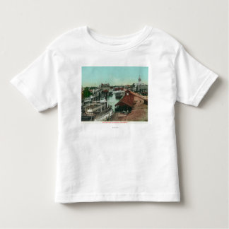 Aerial View of the WaterfrontStockton, CA Toddler T-Shirt