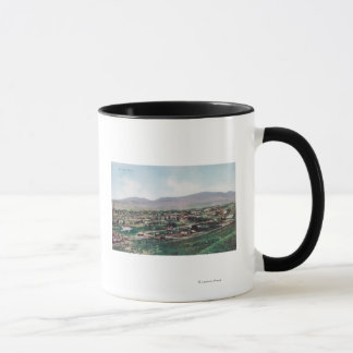Aerial View of Town from the Hills Mug