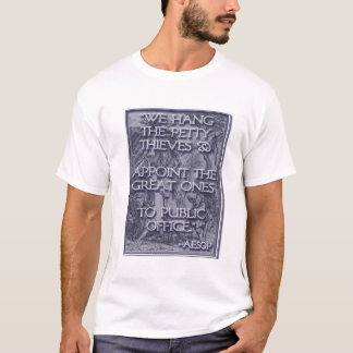 Aesop on Great Thieves: Congress! T-Shirt