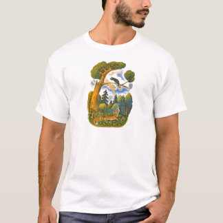 Aesop's fables illustrations T-Shirt
