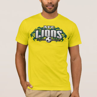 AFC Lions Gold (No #) T-Shirt