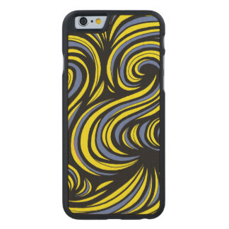 Affable Jovial Energized Charming Carved® Maple iPhone 6 Slim Case
