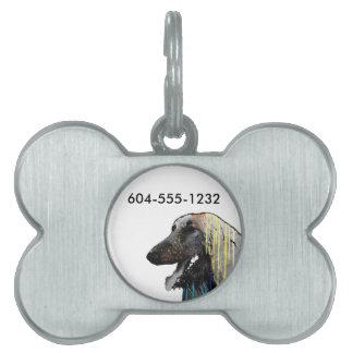 Afghan Hounds Pet ID Tag