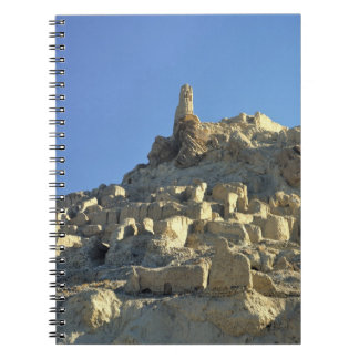 Afghanistan, Bamian Valley. Legend tells that Notebook