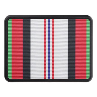 Afghanistan Campaign Medal Ribbon Hitch Cover
