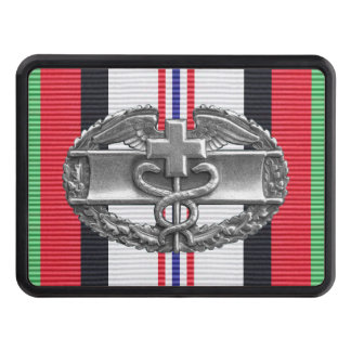 Afghanistan Combat Medical Badge Hitch Cover