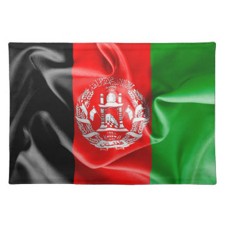 Afghanistan Flag Cloth Placemat
