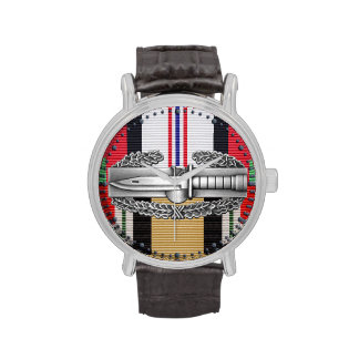 Afghanistan Iraq Combat Action Badge Watch