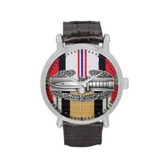 Afghanistan & Iraq Combat Action Badge Watch