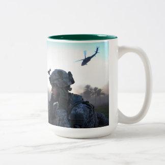 Afghanistan ISAF tour of Duty mug