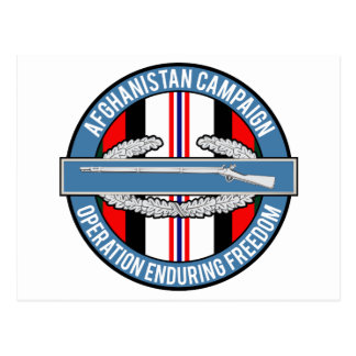 Afghanistan OEF CIB Postcards