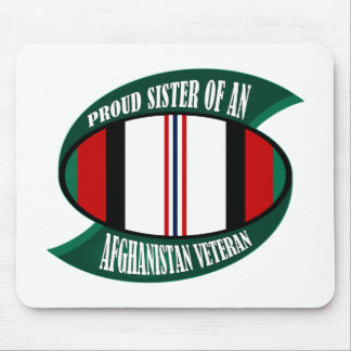 Afghanistan Vet Sister Mouse Pad