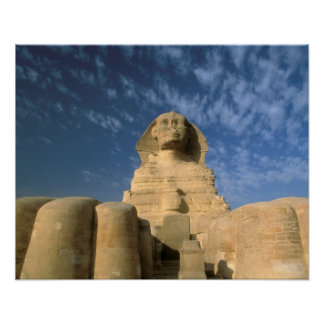 Africa, Egypt, Cairo, Giza Plateau. Sphinx Poster