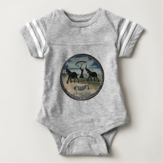 Africa Kenya Beautiful Elegant Wildlife Baby Bodysuit