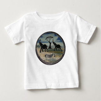 Africa Kenya Beautiful Elegant Wildlife Baby T-Shirt