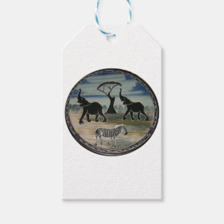 Africa Kenya Beautiful Elegant Wildlife Gift Tags