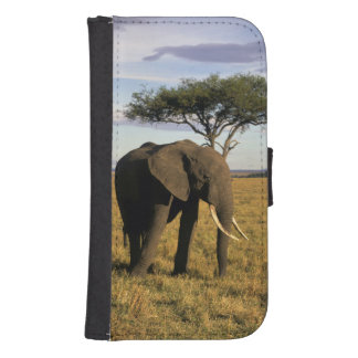 Africa, Kenya, Maasai Mara. An elehpant in the Samsung S4 Wallet Case