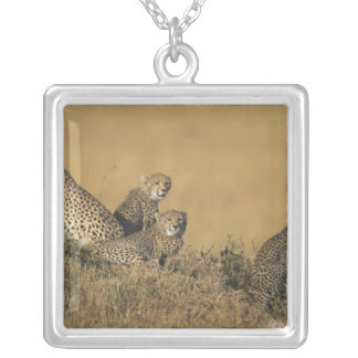 Africa, Kenya, Masai Mara Game Reserve, Adult 5 Silver Plated Necklace