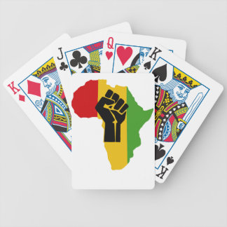 Africa Power - Reggae Bicycle Playing Cards