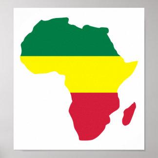 Africa Reggae Poster