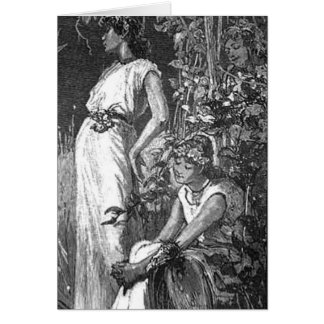 African American Fairies (Bridal Shower) Greeting Card