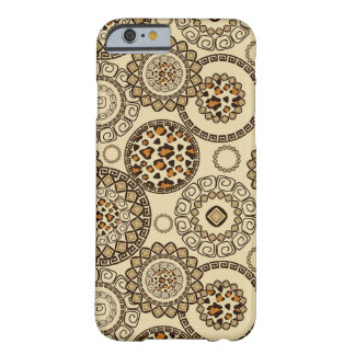 African cheetah skin pattern 3 barely there iPhone 6 case