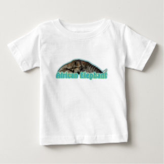African elephant wildlife safari toddlers t-shirts