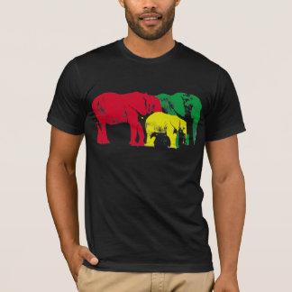 African Elephants by Brad Scott T-Shirt