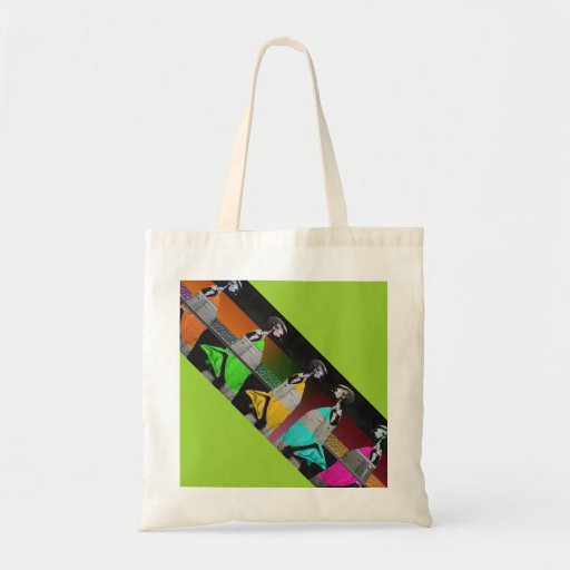 African Fashion Canvas Bag