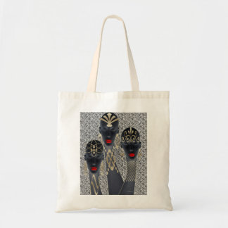 African Fashion Bling Tote Bag
