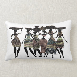 African Feast Lumbar Cushion