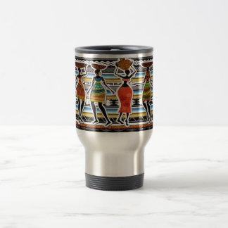 African Feast Stainless Steel Travel Mug