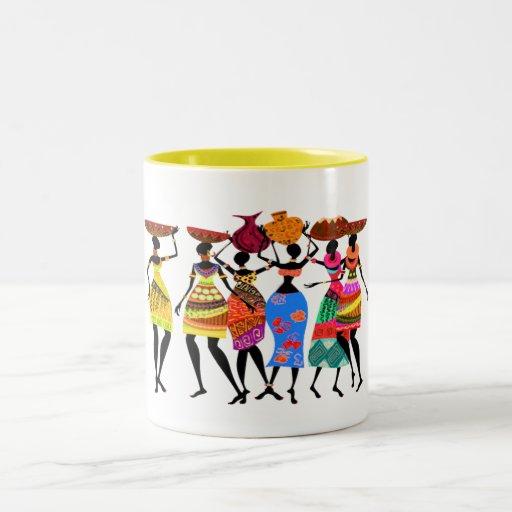 African Feast Coffee Mug