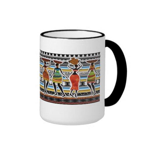 African Feast Mug