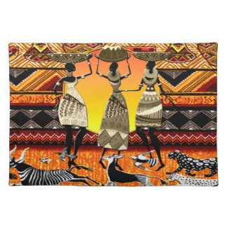 African Feast Placemat