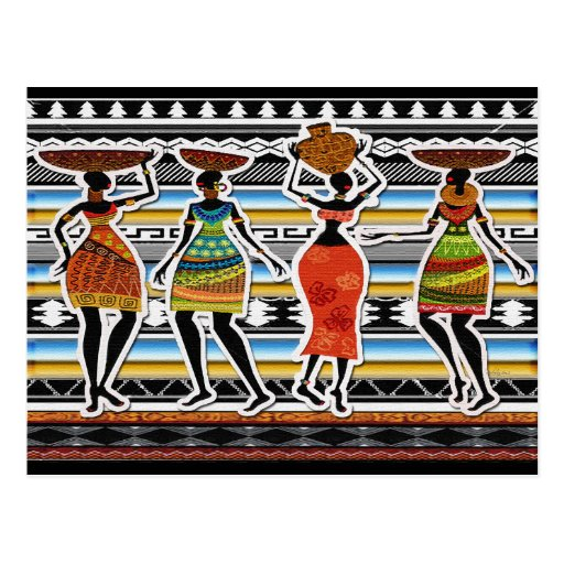 African Feast Post Cards