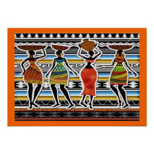 African Feast Posters
