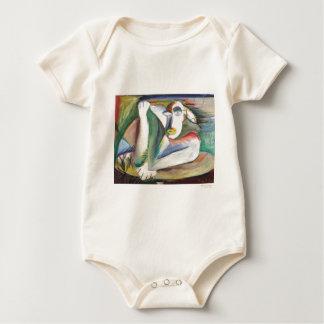 African Figure Baby Bodysuit