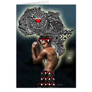 African Groove Thing Card