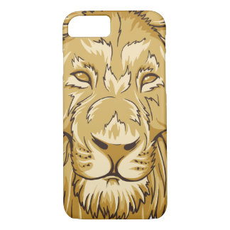 African King Lion Face Wild Animal iPhone 7 Case