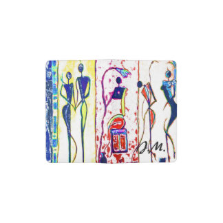 African people in their phases of life pocket moleskine notebook