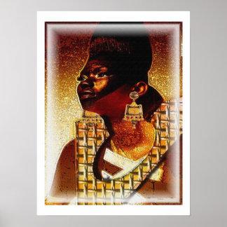 African Princess Poster