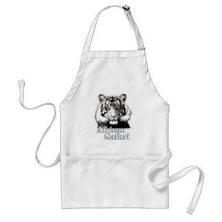 African safari apron. standard apron