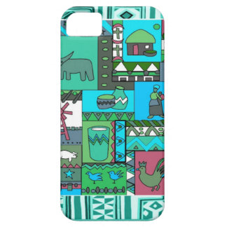African village artifacts iPhone 5 cover