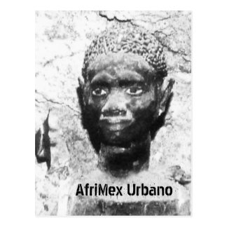AfriMex Urbano Ancestor Latin America Card Postcard