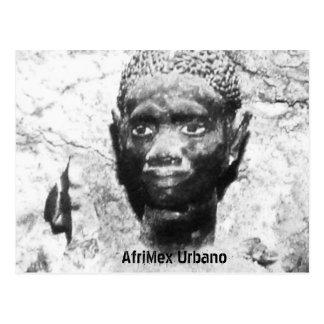 AfriMex Urbano Ancestor Latin America Series Card2 Postcard