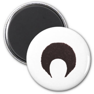 Afro Brown The MUSEUM Zazzle Gifts Refrigerator Magnets