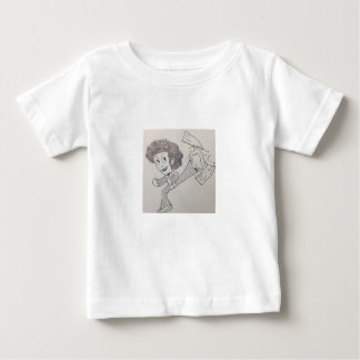 Afro kid fighter tshirt