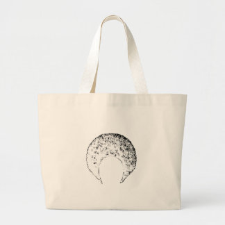 Afro White The MUSEUM Zazzle Gifts Tote Bags