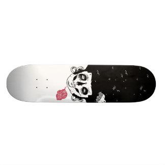 afro zombie 18.1 cm old school skateboard deck